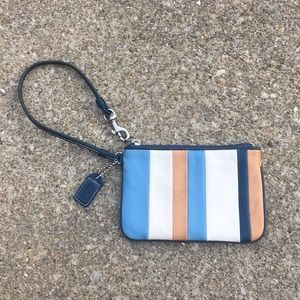Coach Wristlet/Card Holder, Leather